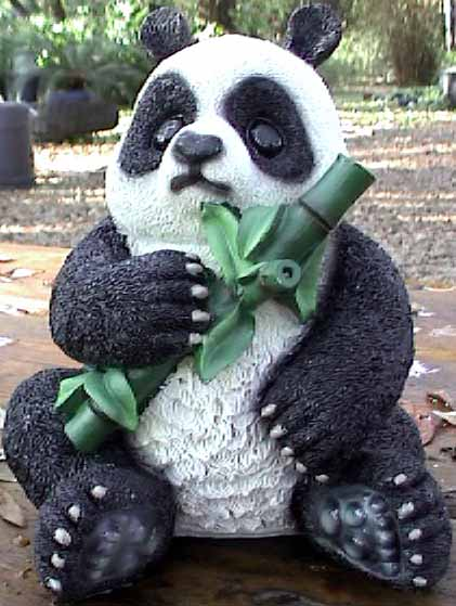 Hereu0027s My Panda Bear Statue: